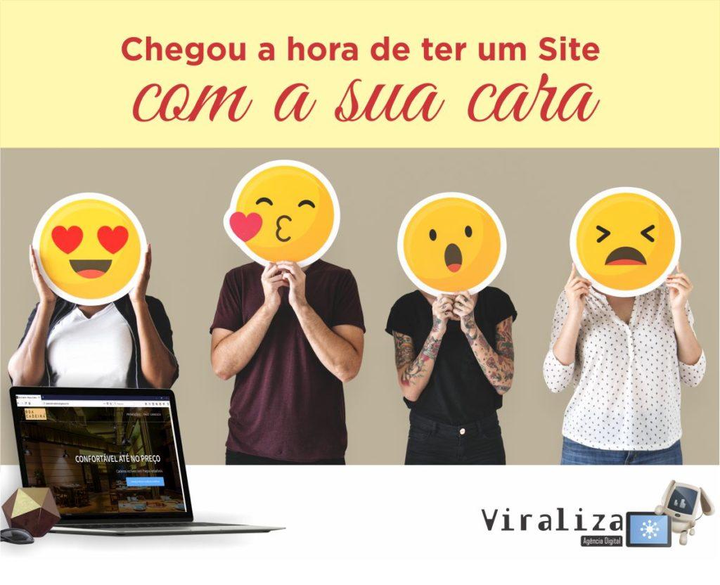Criação de Site Profissional - Viraliza