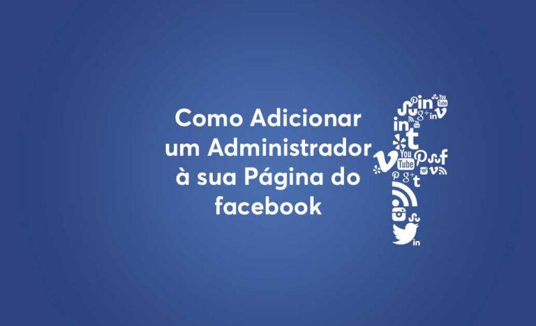 Tutorial-Como adicionar administrador de página no Facebook - capa
